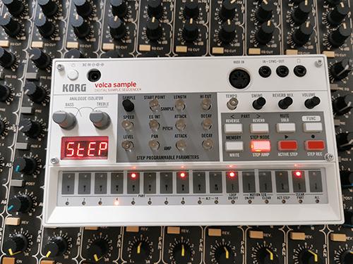 Korg Volca Sample Melodic Rhythm Pattern